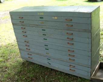 Map Chest Industrial Document Storage Studio Find Massive Mid Century Cabinet Virginia Pickup Reduced