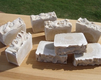 Unscented caffeine handmade soap carnivore friendly no scent geekery tallow tan soap