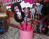 Monster High Birthday Party Theme Centerpiece Decoration