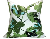 Fig Leaf pillow cover in Original on White