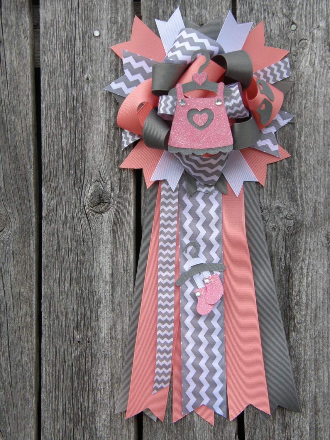 baby shower mumbaby girl baby shower corsage baby shower by bonbow