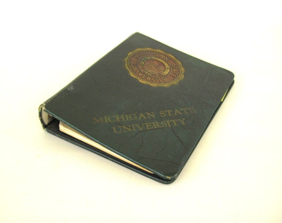 Michigan State University 3 Ring Binder Small for 8.5 x 5.5 Notebook Paper National