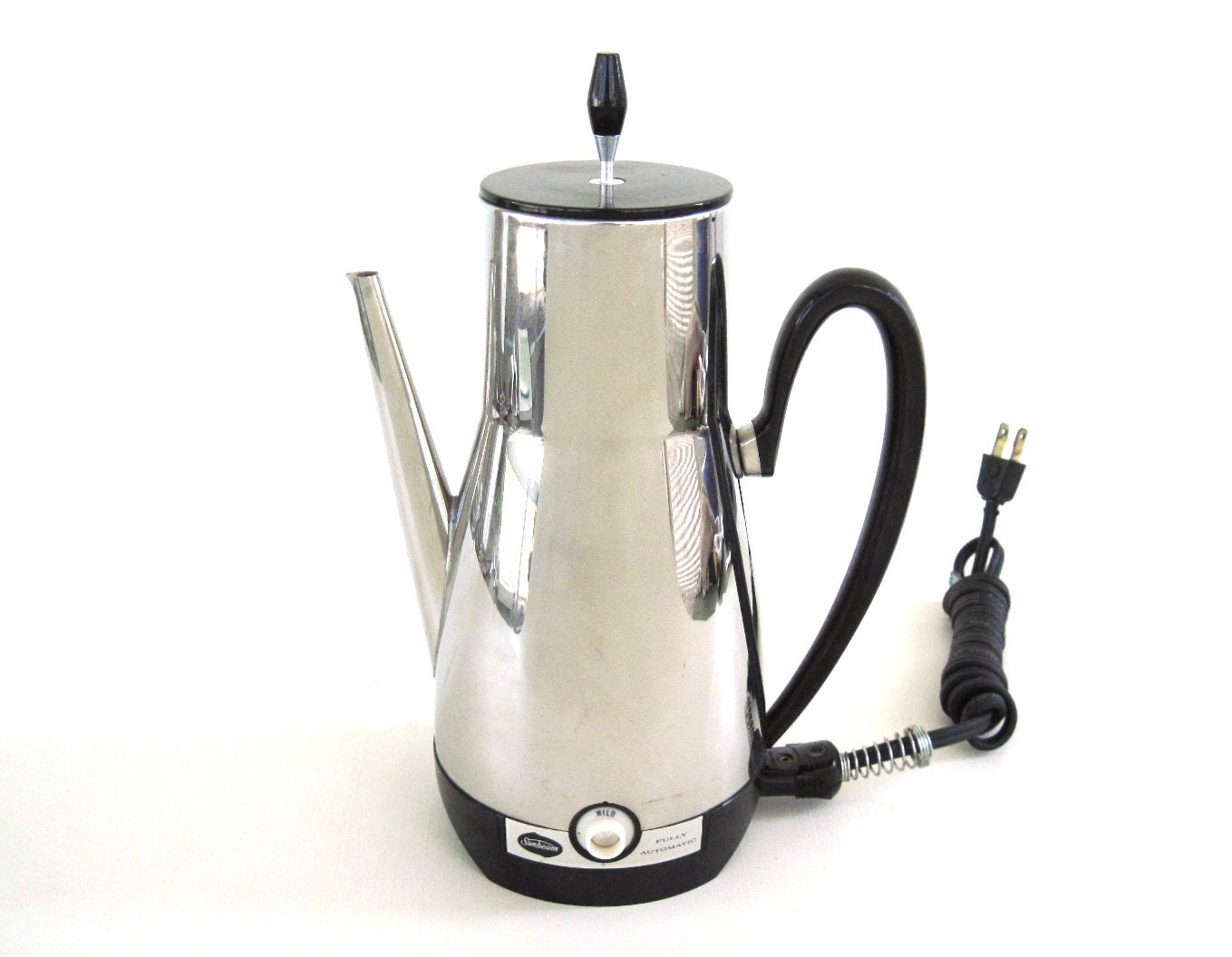 Sunbeam Percolator Coffee Maker : Sunbeam Electric Percolator AP74 Coffee Pot Vintage