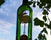 Ken's Rabbit Wine Bottle Wind Chime