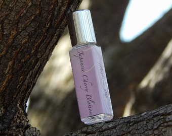 Perfume Oil - Roll On Perfume - Japanese Cherry Blossom - 8mL