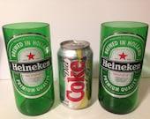 Heineken Tall Recycled Glasses - Set of 2