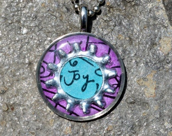 Joy Pendant - Great for Birthday, Christmas, or Just a Gift for a Special Girl