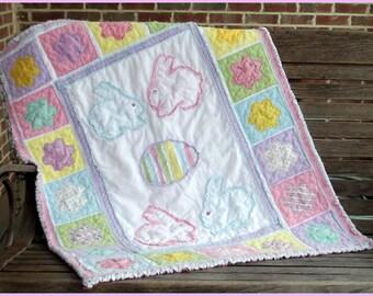 Sugar Babies Baby Rag Quilt Pattern