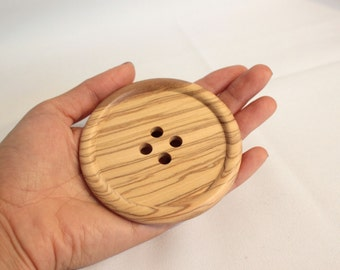 Giant buttons, Giant wooden buttons 8cm, extra large buttons, huge wooden button, UK giant buttons, UK buttons shop