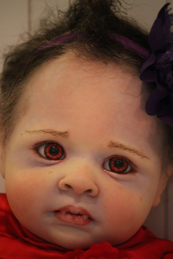 Custom Twilight Vampire Reborn baby