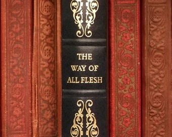 Vintage book by Samuel Butler, The Way of All Flesh faux leatherbound book
