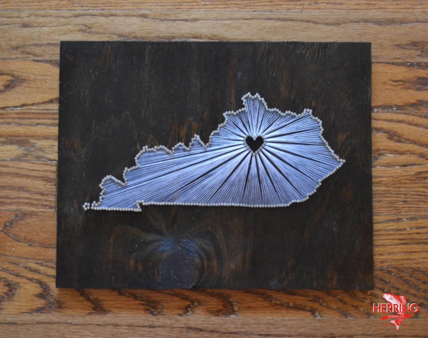 Nail Art Ideas state nail string art : Stained Kentucky State String Art Lexington KY Stained