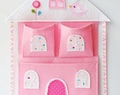 Dollhouse Wall Pocket and Bow Holder PDF Pattern & Tutorial