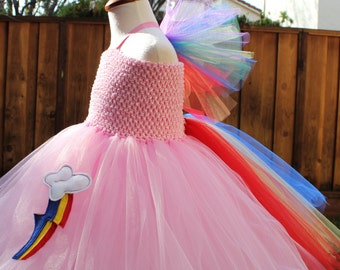 Pink Rainbow Dash My Little Pony Costume - whimsical Rainbow dash cosplay in pink - pink mlp costume