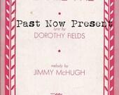 INSTANT DOWNLOAD 1933 Vintage Romantic Piano Sheet Music Cover, Digital Ephemera, Dorothy Fields Music .jpg, scrapbooking, Valentine's Day