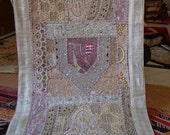 indian handmade patchwork wall hanging/home tapestry/home decor