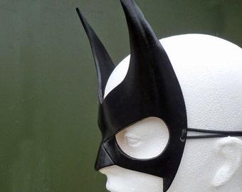 BATWOMAN Mask Cosplay Costume Batgirl Fancy Dress