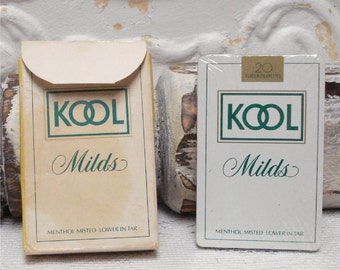Kool Milds Playing Cards Deck Unopened