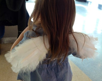 White Newborn/Toddler Angel Wings