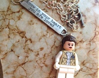 The Princess Loves You Adventurer Geek Girl Necklace