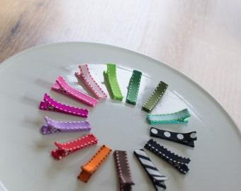 Grosgrain Ribbon Clips, Set of 2