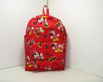 Minnie Mouse - Fashion Diva Preschool Backpack