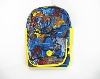 Batman 2 Preschool Backpack