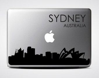 Sydney Skyline Macbook #4  / Macbook Sticker / Laptop Decal