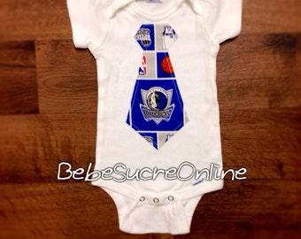 Dallas Mavericks Boys Bodysuit or Toddler Shirt