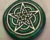 Celtic Pentacle Pendant RESERVED