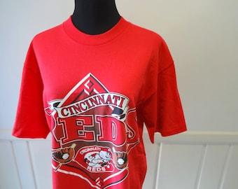 Vintage Cincinnati Reds Baseball T-Shirt 1993