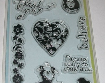 Inkadinkado Be Yourself Clear Stamps