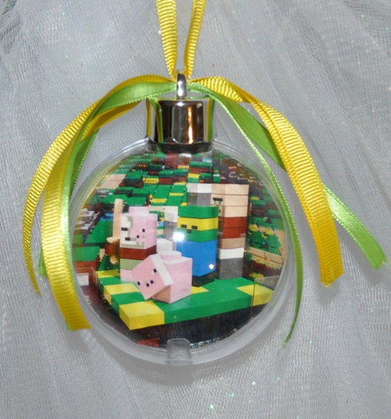 Commercial Christmas Decorations Florida: Lego Minecraft Christmas Ornament By Mytrendyexpressions