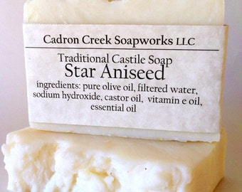 Anise Traditional Castile Soap