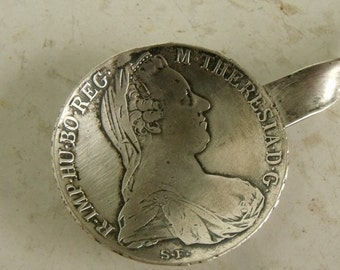 Coin Maria Theresa Thaler Silver Buillon Spoon