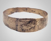 Authentic Medieval Mans  Ring C.13th-15th Century Size 10 1/2 (20.4mm)(BRR394)