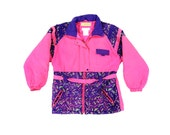 Wild 80s Neon Lookin' Good Winter Parka - XS / XXS