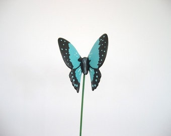 Butterfly, Ceramic butterfly, plant decoration, flower pot decoration