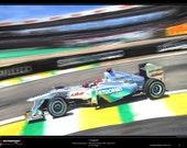 Michael Schumacher F1 Petronas Mercedes W02 Limited Edition Art Print