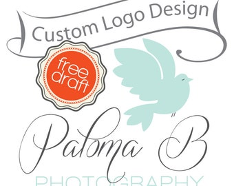 Custom boutique logo - Custom Logo Design - Custom photography logo
