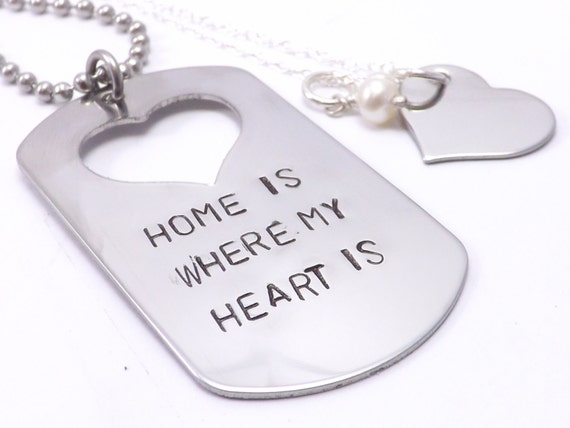 home is where my heart is military couple set by missashleyjewelry. Black Bedroom Furniture Sets. Home Design Ideas