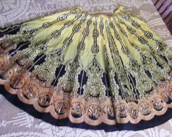 Vintage Skirt with Sequins  Reserved for Paige
