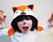 wild things fox hat for children