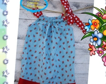Turquoise floral and polka dots flower girl dress,beach dress,weddings,birthdays,dresses toddlers,babies