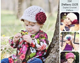 Newsboy Hat Crochet « Free Crochet Patterns