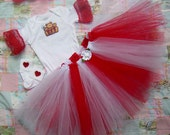 "Reborn Tutu Set Hand Made Four Piece ""Princess Tutu Set"" for 18""-24"" Reborns Tddy Bear and Hearts"