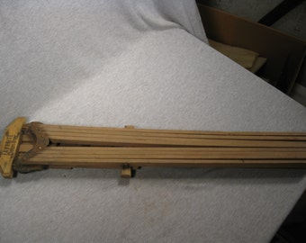 Antique Wooden Wall Mounted Clothes Drying Rack 8 Arms Favorite Clothes Dryer Drier