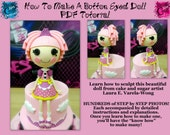 How To Make A Button Eyed Doll PDF Tutorial