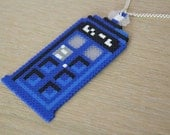 Tardis - Necklace