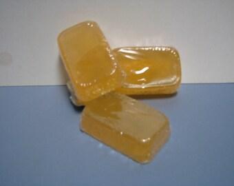 Valencia Orange Glycerin Bar, Soap, Glycerin Soap, Handmade Soap, Dry Skin Soap, Itchy Skin Soap